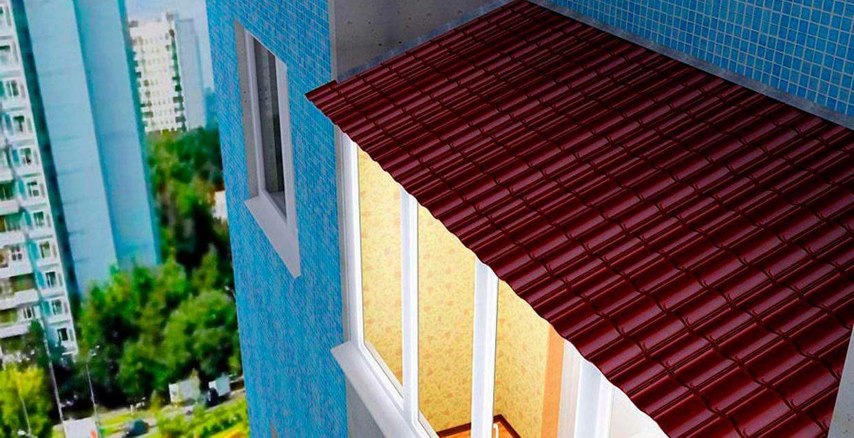 Остекление балкона с крышей цены в москве, установка крыши н.