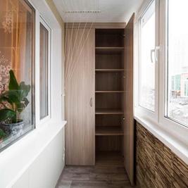 Монтаж парапета балконов и лоджий в москве.